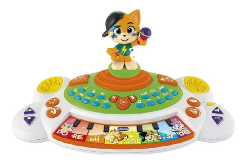 Brinquedo Piano 44 Gatos Lampo 12m + Chicco 99171