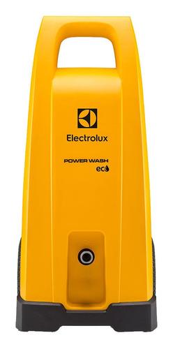 Lavadora De Alta Pressão Electrolux Power Wash Eco Ews30 Amarela Com 1800psi De Pressão Máxima 127v
