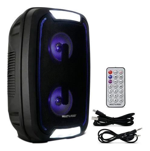 Caixa De Som Bluetooth Party Speaker Portátil Usb 200w