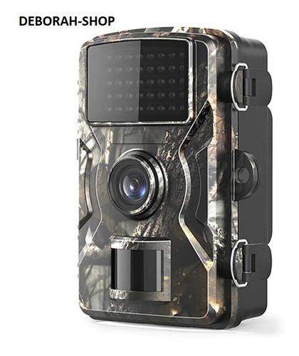 Câmera Trilha Caça Compacta Tela Lcd Visão Noturna Filma 12m