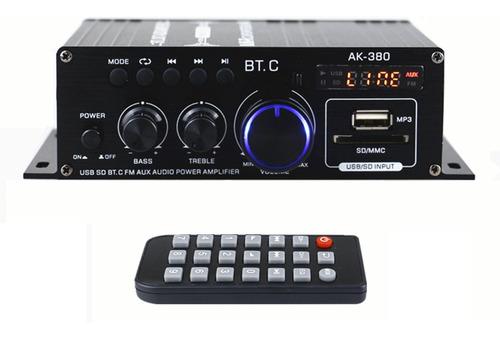 Ak380 40w+40w Mini Audio Amplificador De Potencia De Sonido