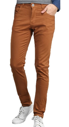 Calça Jeans Masculina Slim Skinny C Lycra