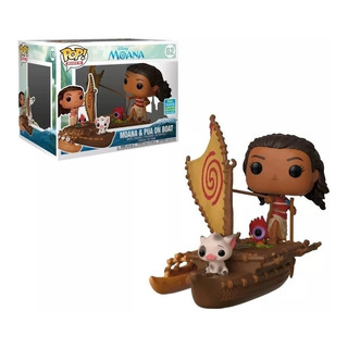 Funko Pop Moana & Pua On Boat 62 - Moana Limited Edition