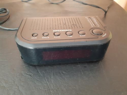 Rádio/ Relógio Power Pac Usado