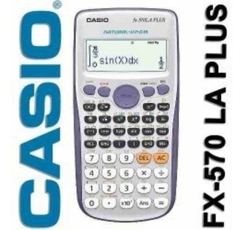 Calculadora Cientfica Casio Fx-570la Plus