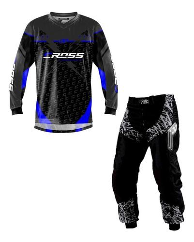 Conjunto Motocross Trilha Pro Tork Insane X Lançamento