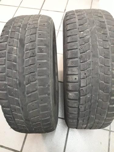 Cubiertas Dunlop Winterice 225-65/17 Con Clavos.