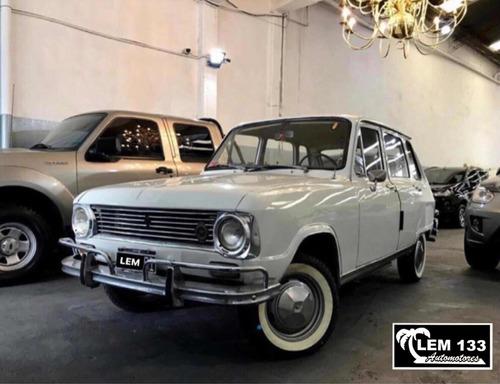 Renault 6 Tl *75  Original  Excelente , Anticipo $
