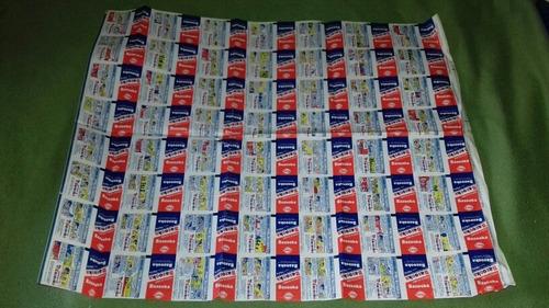 Plancha 112 Papelitos La Barra Del Pide Bazooka 1985 Envolto
