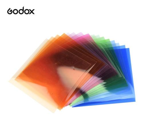 Godox Sa-11t Juego De Filtros De Color De Ajuste De Temperat