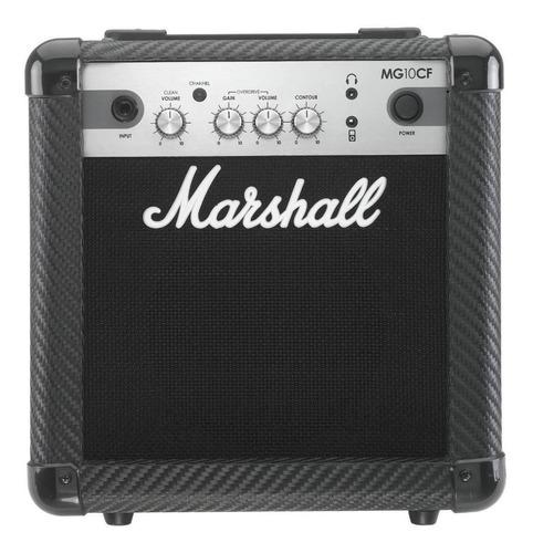 Amplificador Marshall Mg Carbon Fibre Mg10cf Combo Transistor 10w Negro 220v