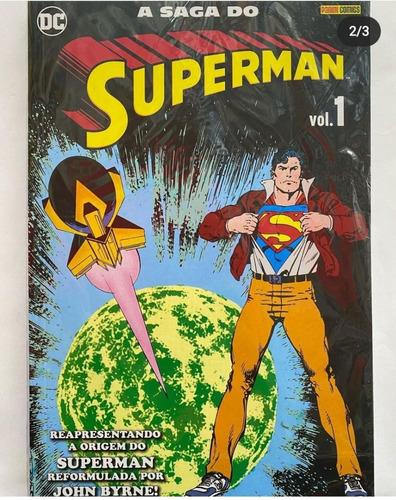 A Saga Do Superman Vol.01 Novo E Lacrado