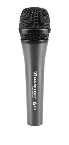 Microfone Sennheiser E835 Dinâmico  Cardióide Preto
