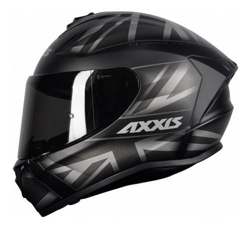Capacete Para Moto Axxis Draken Uk By Mt Helmets Nf