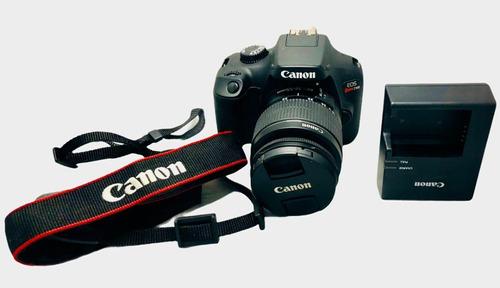 Camera Canon T100 Seminova Lente 1855 Nota Fiscal Garantia