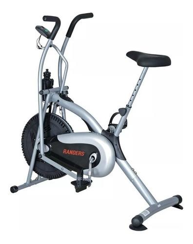 Bicicleta Fija Spinning Randers Arg-918 Plata
