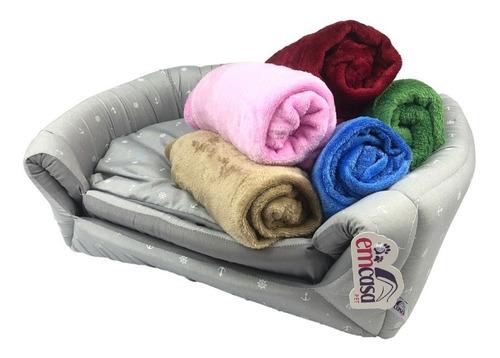 Cobertor Edredom Macio Mantinha Pet Cachorro Gato Inverno