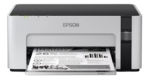 Impressora Epson Ecotank M1120 Com Wifi Branca E Preta 100v/240v