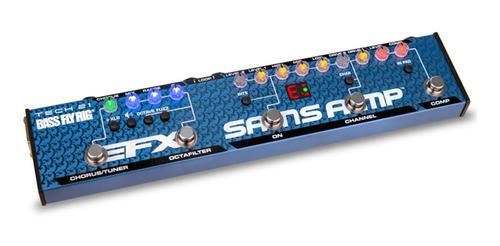 Pedal Bass Fly Rig V2 Tech 21 Sansamp Made In Usa