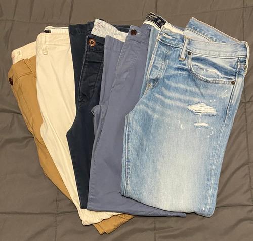 Pantalones Hombre De Vestir Abercrombie Fitch Con Los Mejores Precios Del Argentina En La Web Compracompras Com Argentina