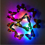Mudando Colorido Borboleta Led Lâmpada De Luz Noturna Casa 2