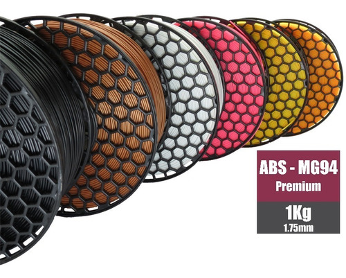 Filamento Abs Mg-94 Premium 1kg-1,75mm National 3d