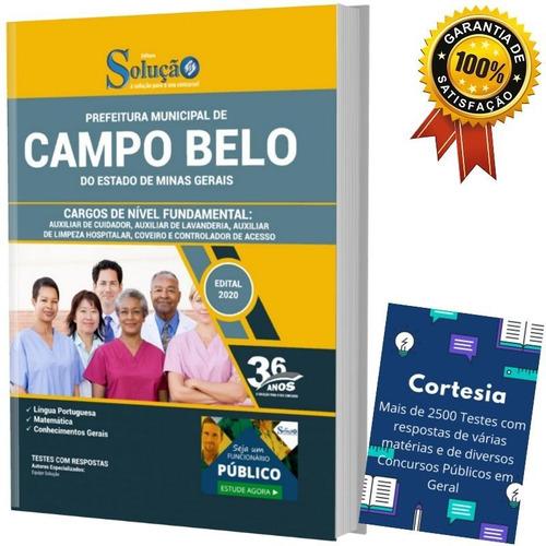 Apostila Campo Belo Mg Auxiliar Coveiro E Controlador