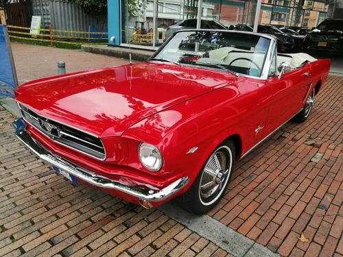 Ford Mustang Convertible 1964 Y Medio Clasico Original