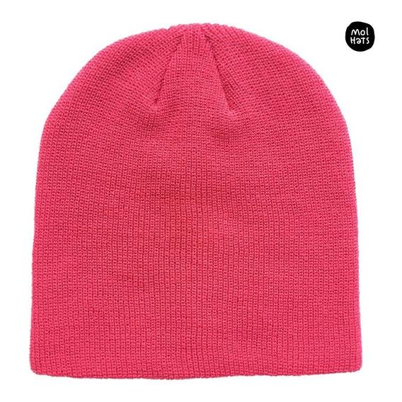 Gorro De Lana Beanie Doble Gruesito Largo Moda Unisex Nieve Muy Cómodo La Mejor Calidad Bota Plegable