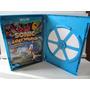 Livro Manual Sonic Lost World Wii U, Capa E Estojo