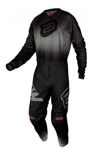 Kit Roupa Trilha Motocross Asw Image Mandala 2021 Preto