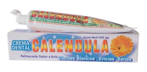 Crema Dental De Calendula Orgánica Con R - g a $129