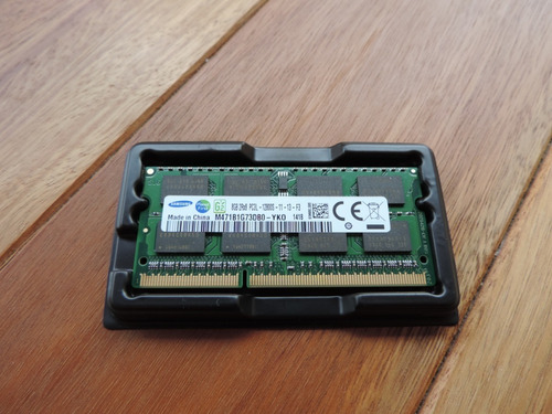 Memoria Samsung P Notebook Ddr3 Pc3l-12800s 8gb 1600mhz Nova