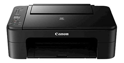 Impresora A Color Multifunción Canon Pixma Ts3110 Con Wifi Negra 100v/240v
