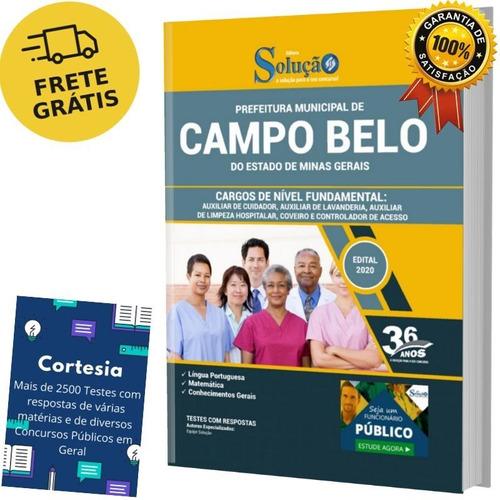 Apostila Auxiliar Coveiro E Controlador Campo Belo Mg
