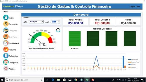 Sistema Gestão Financeira, Contas Receber, Pagar, Parcelas