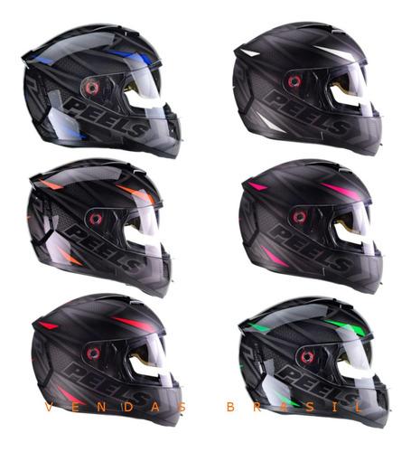 Capacete Motociclista Original Peels Icon Fast Óculos Solar