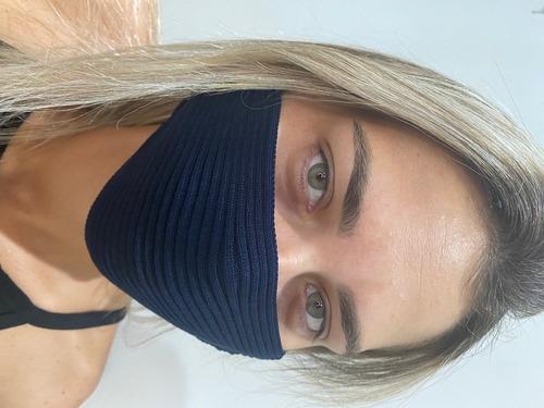 Máscara Famosas De Tricot