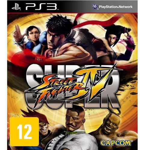 Super Street Fighter Iv Ps3 Usado