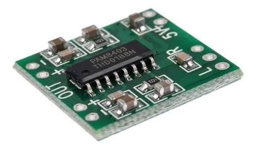 Amplificador De Audio Digital Estéreo Pam8403 Mini 3w Pelv
