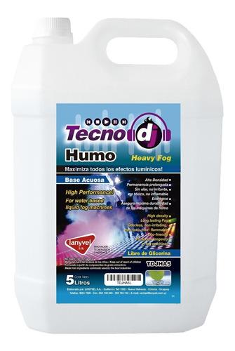 Liquido De Humo Base Agua 5 Litros / Lanyvel / Tecno Dj