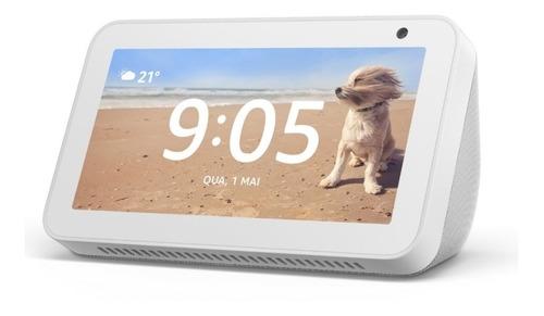 Smart Speaker Amazon Alexa Echo Show 5 Com Tela 5.5'' Branco