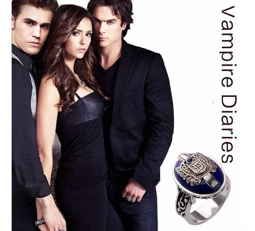 Anillo Inicial De Damon Vampires Diary! Hermoso!