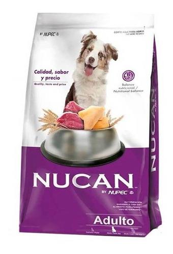 Alimento Nucan Para Perro Adulto Todos Los Tamaños Sabor Mix En Bolsa De 25kg