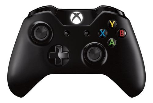 Controle Joystick Sem Fio Microsoft Xbox Xbox One Controller + Cable For Windows Preto