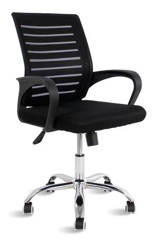 Cadeiras De Escritório Diretor Spike Travel Max Preta