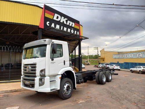 Vw 26.280 Crm 6x4 Ano 2013 No Chassi