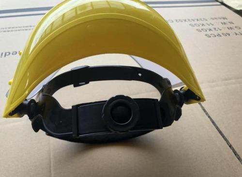 Careta Semicasco Protector Facial Policarbonato Certificado