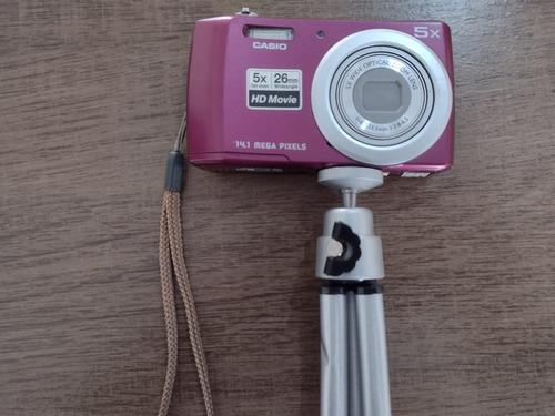 Camera Casio Vem Com Tripe E Bateria Semi nova