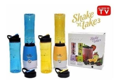 Licuadora Portátil Shake N Take + 2 Vasos